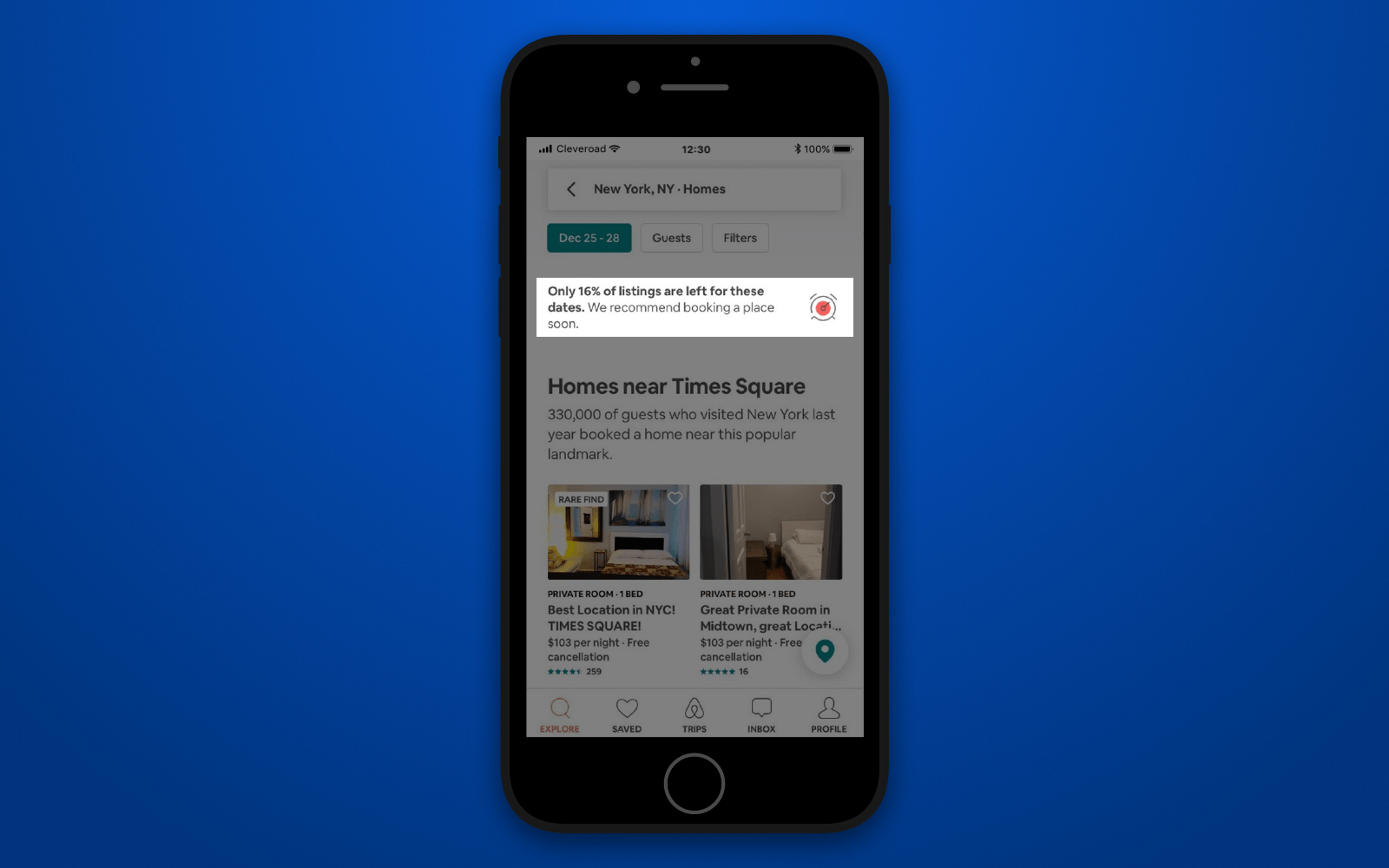 How to create a hotel booking app with forecasting feature