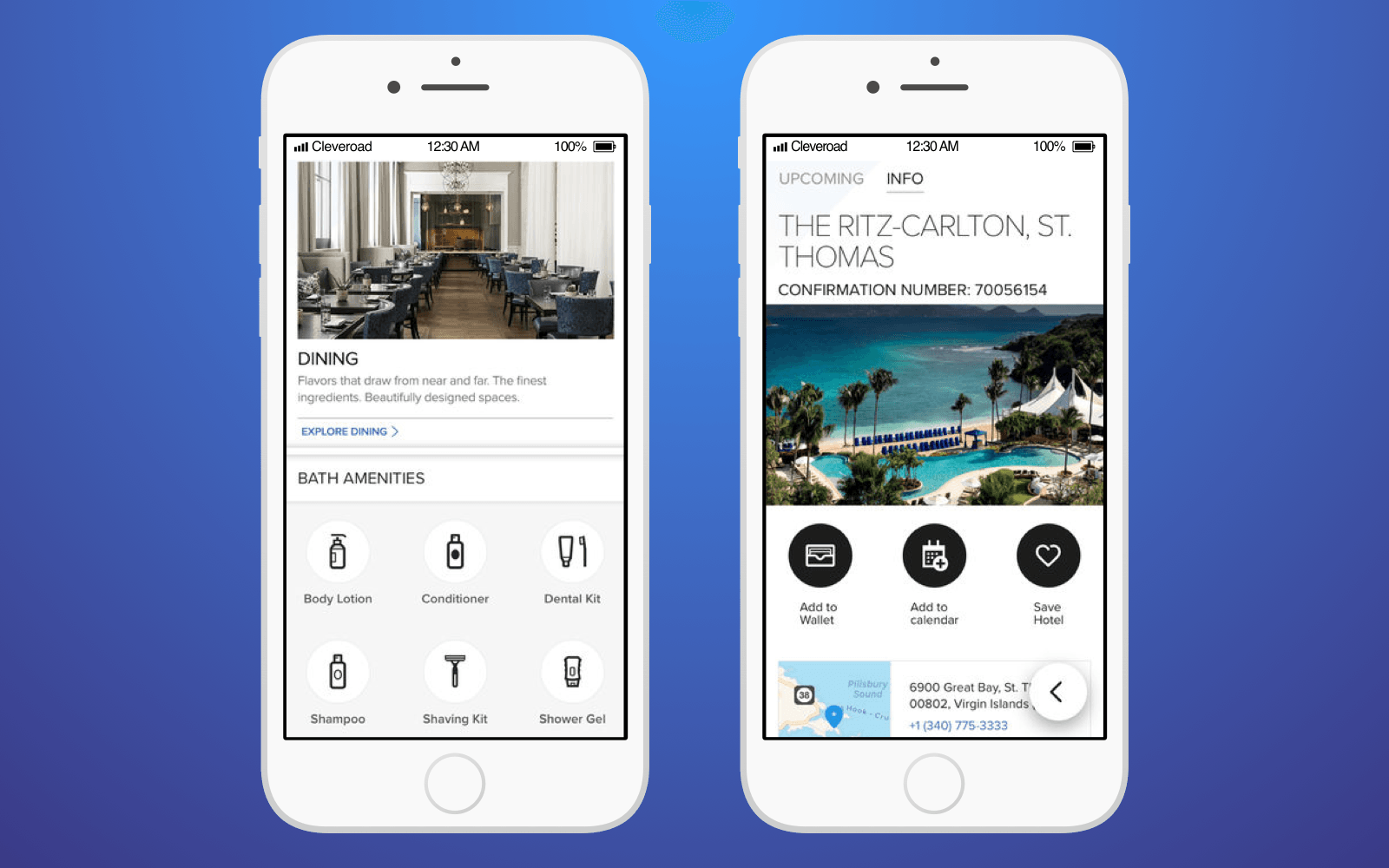 Hotel innovation: Ritz-Carlton Hotels app