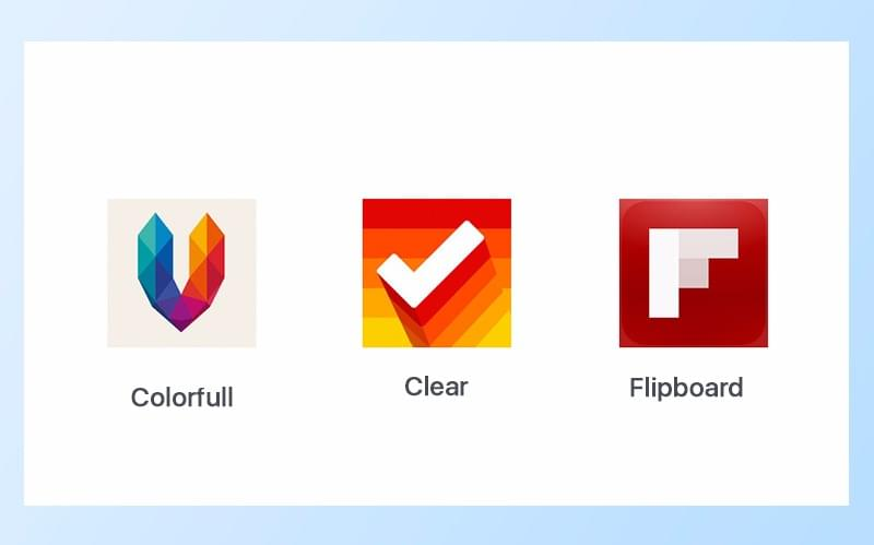 app icons design examples