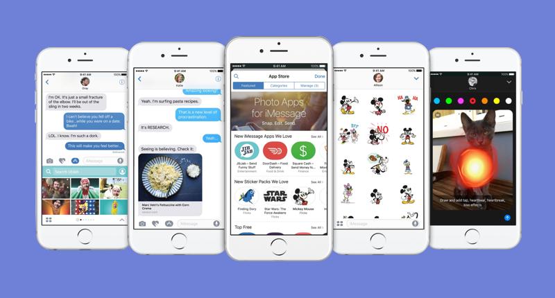 iOS 10 iMessage Improvements