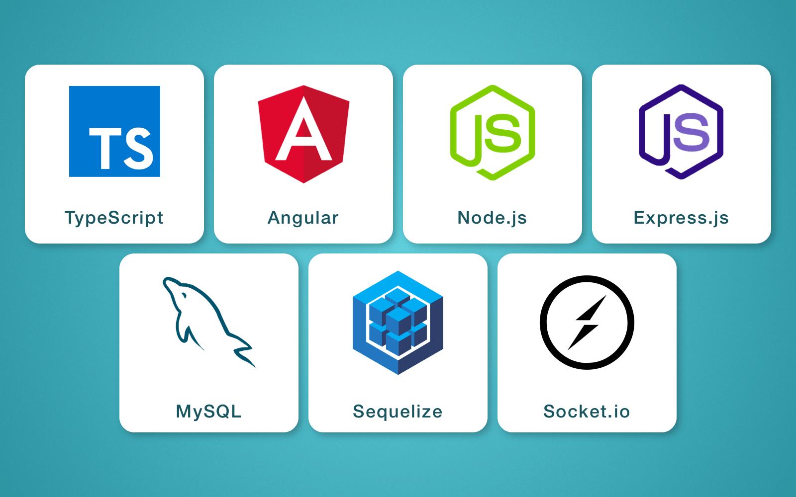 Web & server-side technology stack used in LetsSurf