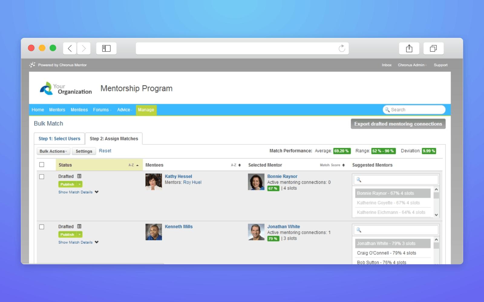 find mentor app