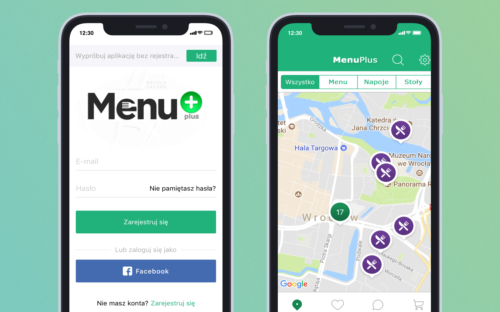 Menu+ app