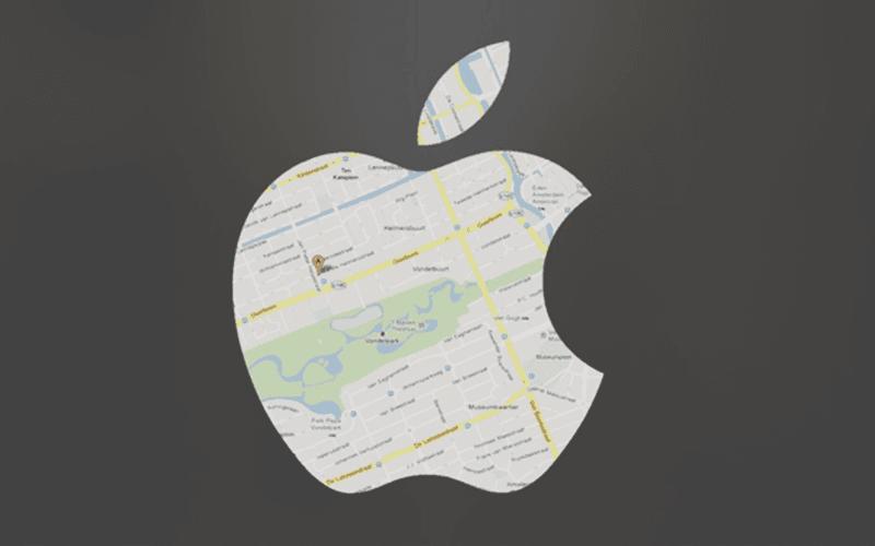 Mobile geolocation integration apple