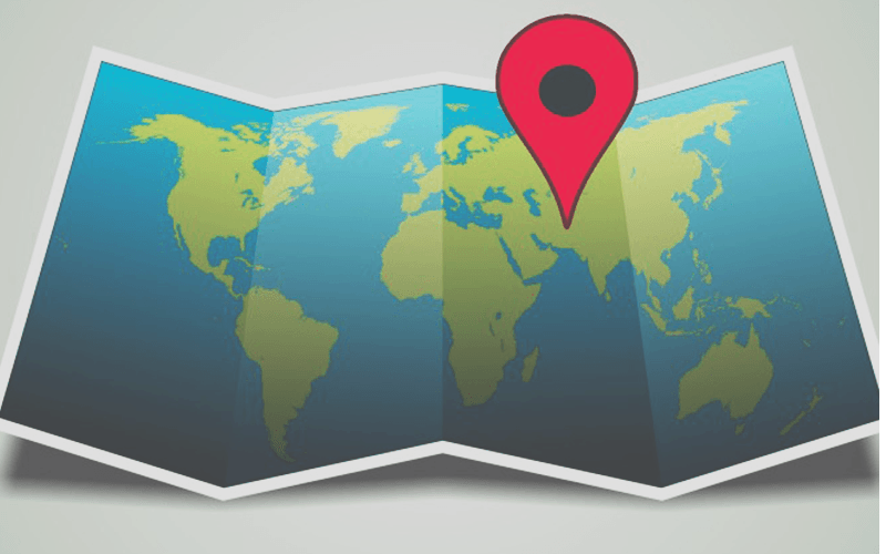 Mobile geolocation integration map