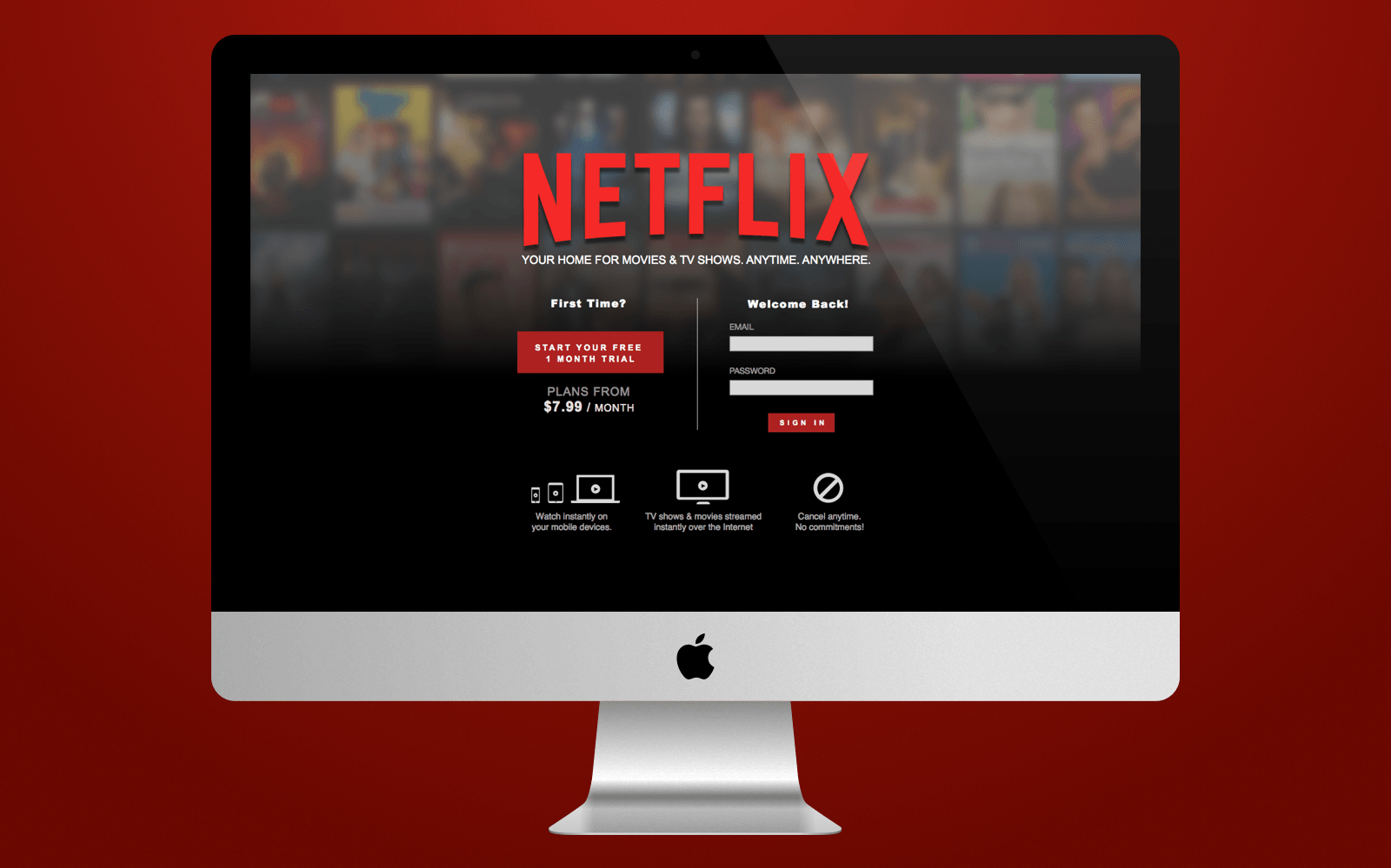 how to start a company like netflix