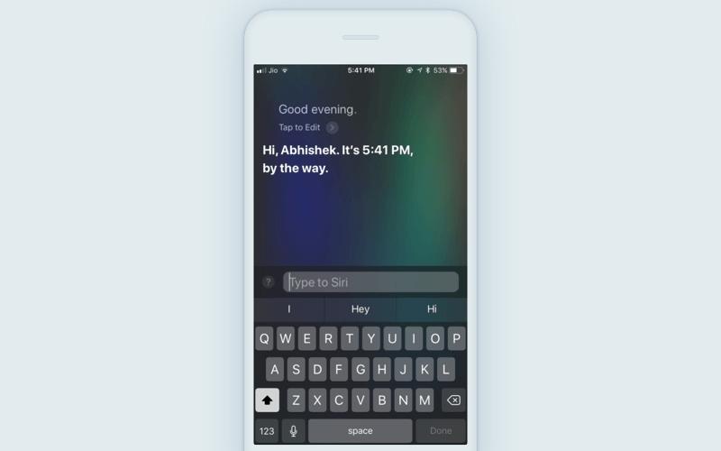 iOS 11 Siri update