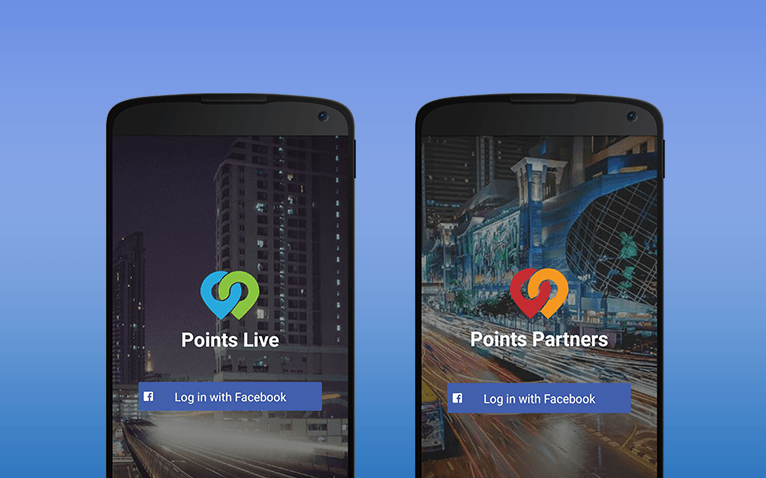 Points Live and Points Partners is a useful tool for event makers