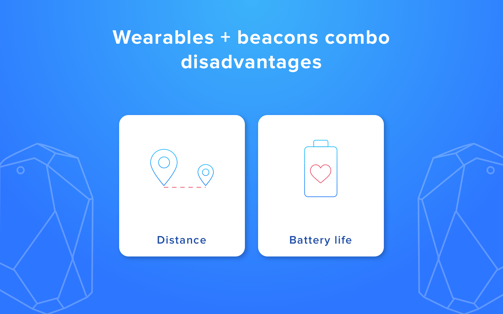 wearable ibeacons disadvantages