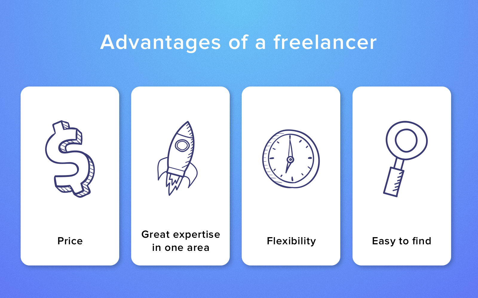 why hire a freelancer?
