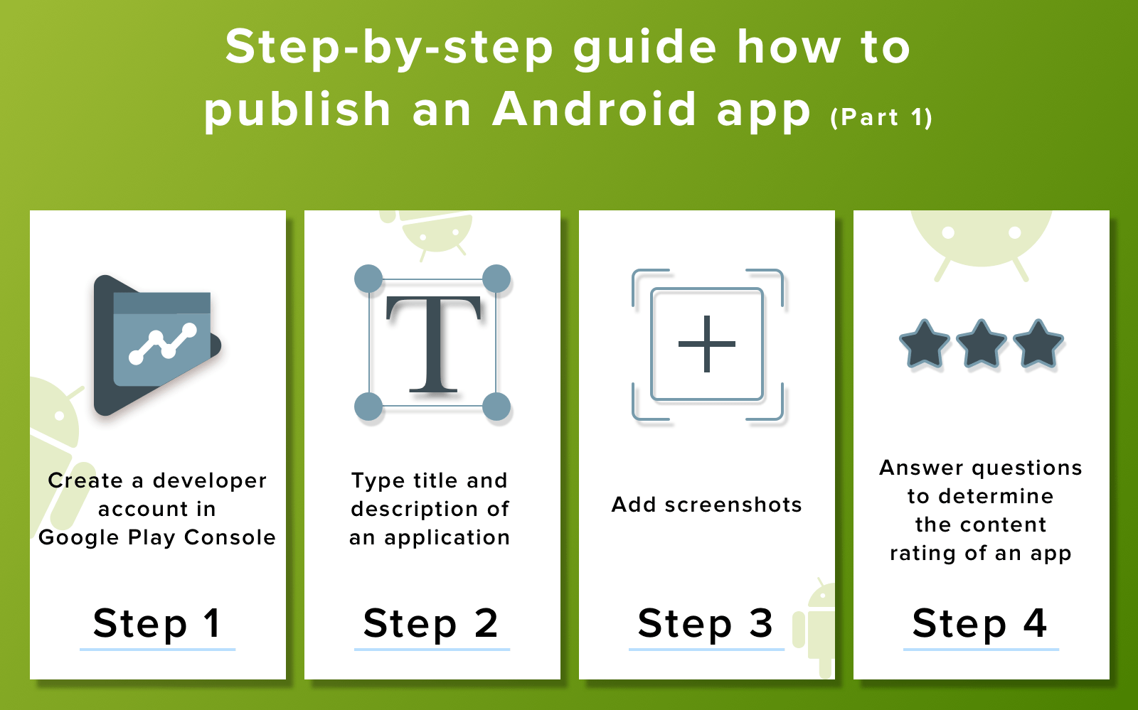 how to release android app