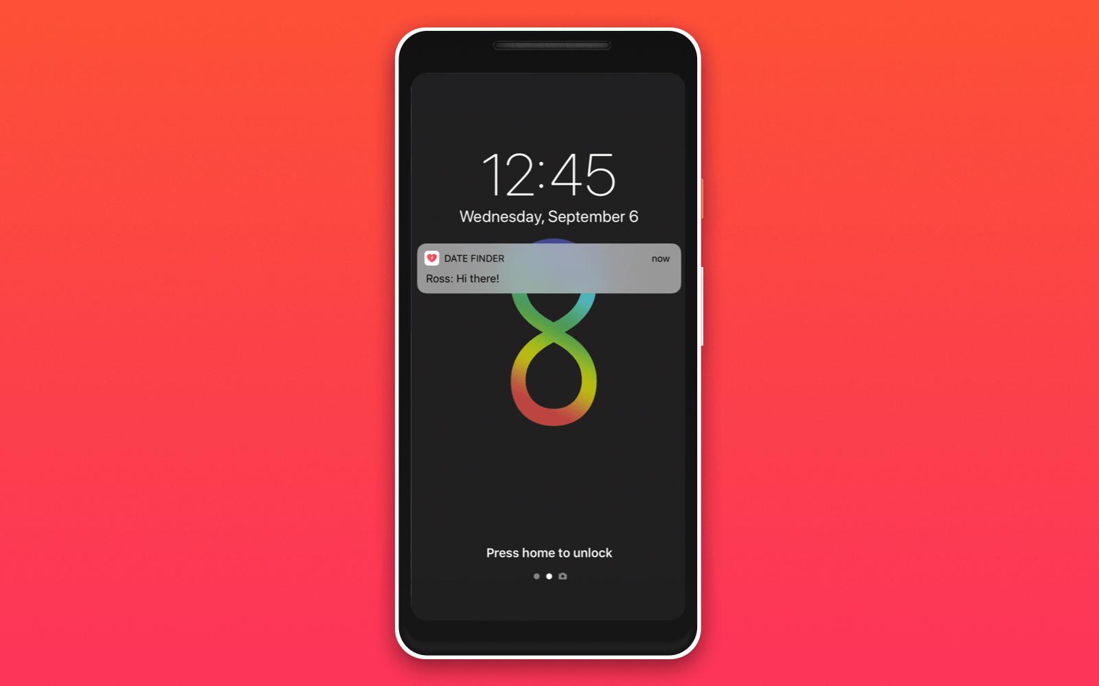 push notifications dating app