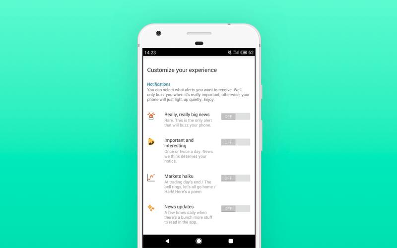 Customization of the Quartz app