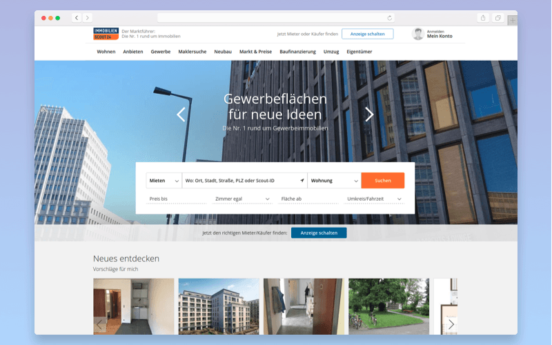 Real estate platform: Immobilien