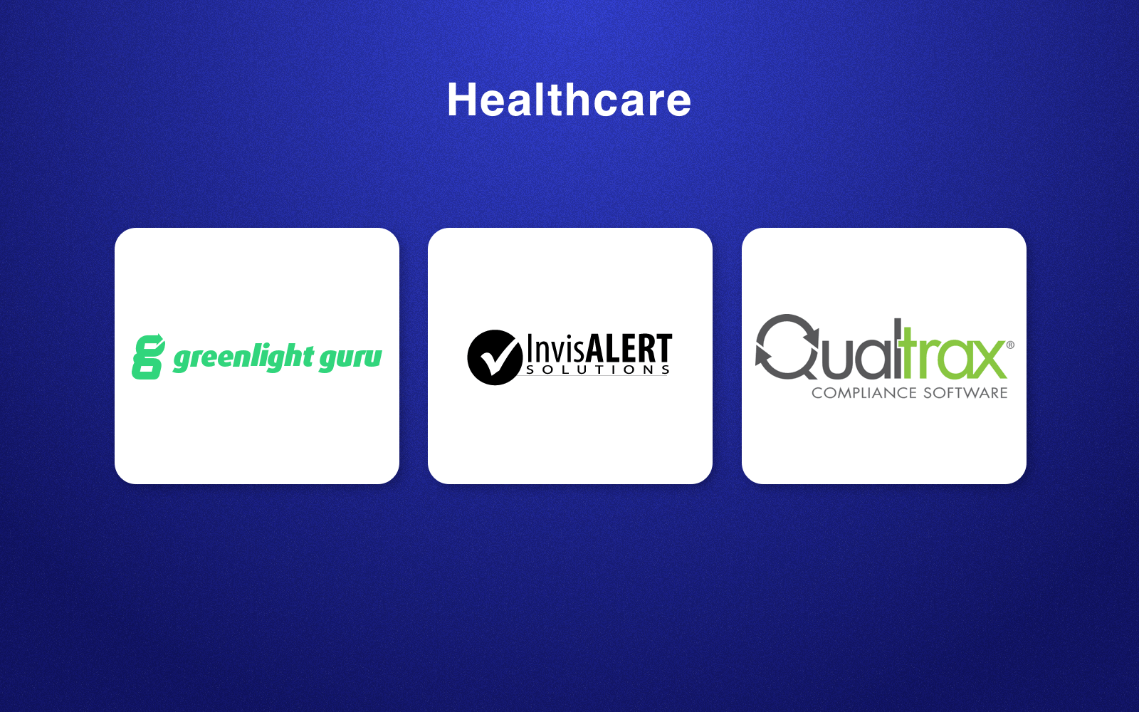 RegTech companies in healthcare field