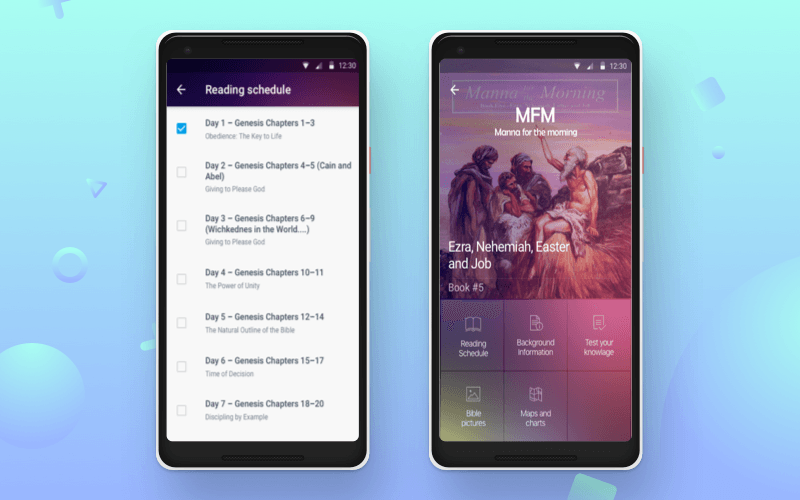 Religious app by Cleveroad