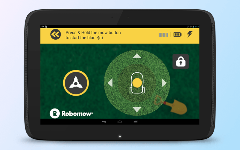 Lawn mower is under your control - Robomow app is here