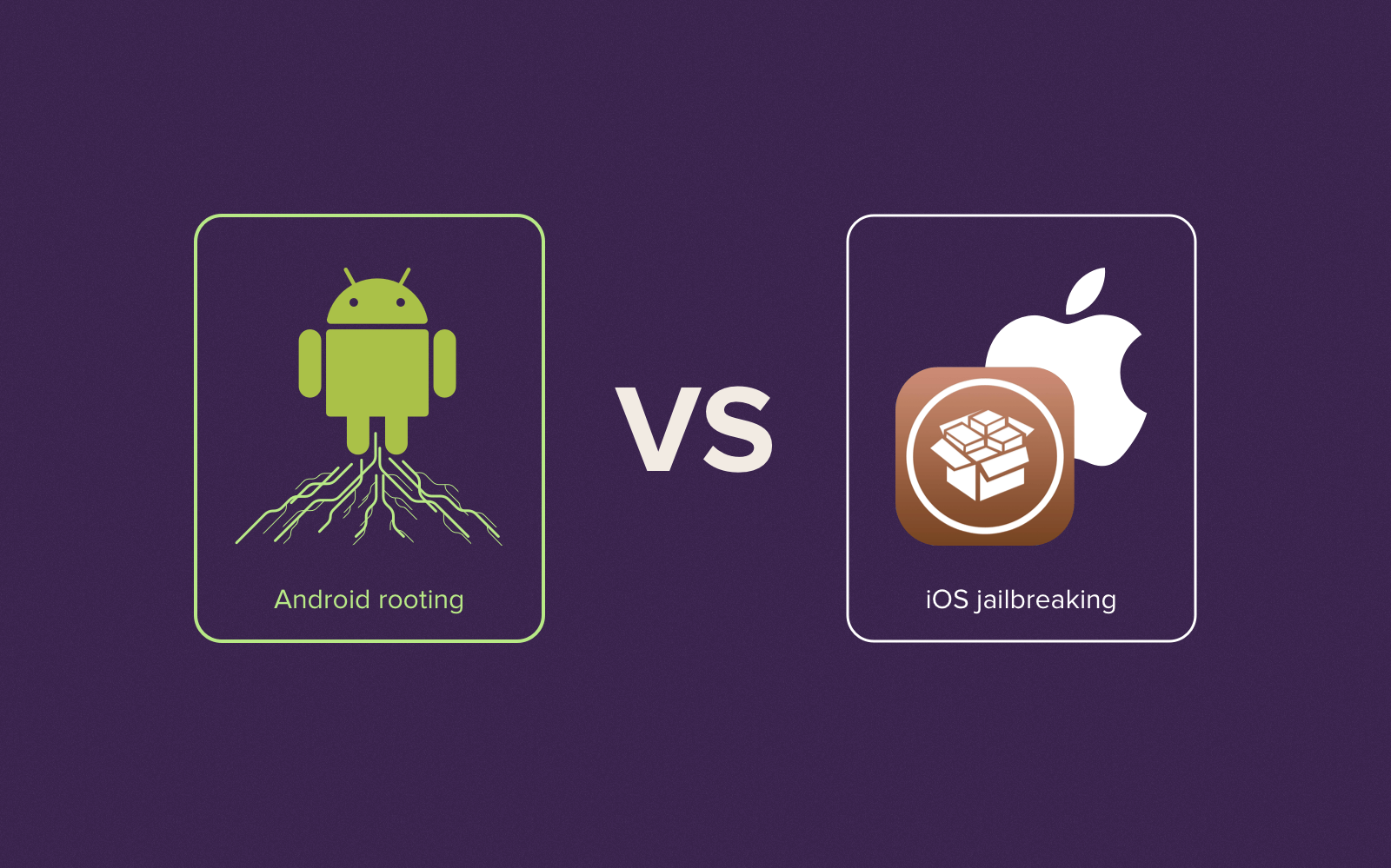 Rooting vs jailbreaking