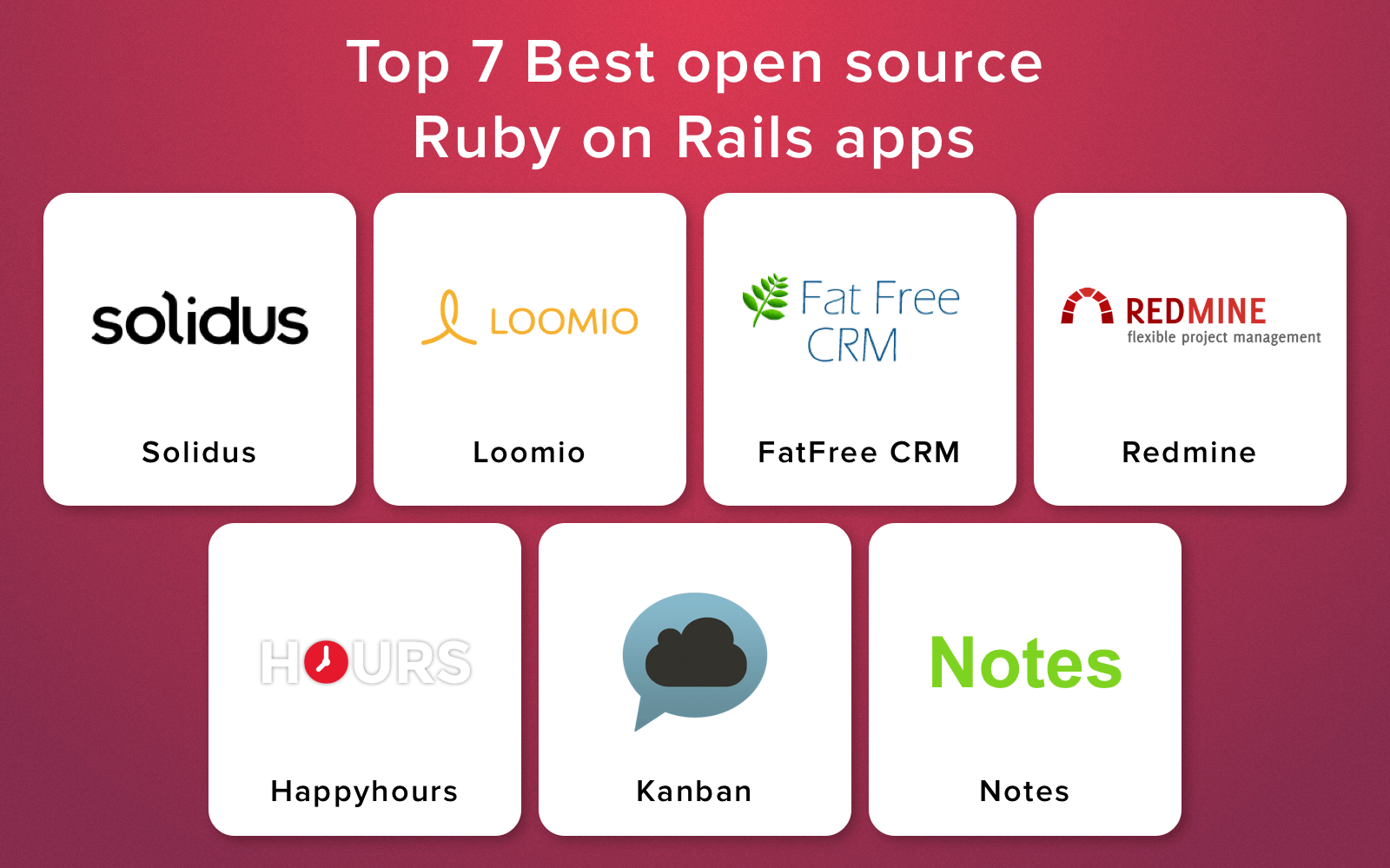 ruby on rails sample projects
