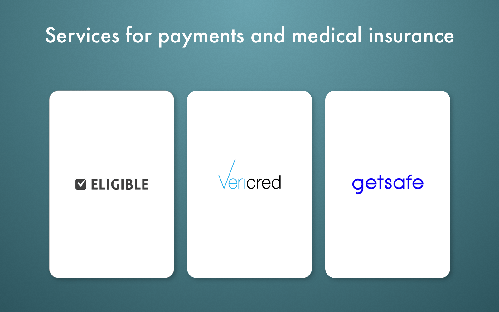 healthcare apis payments and insurance
