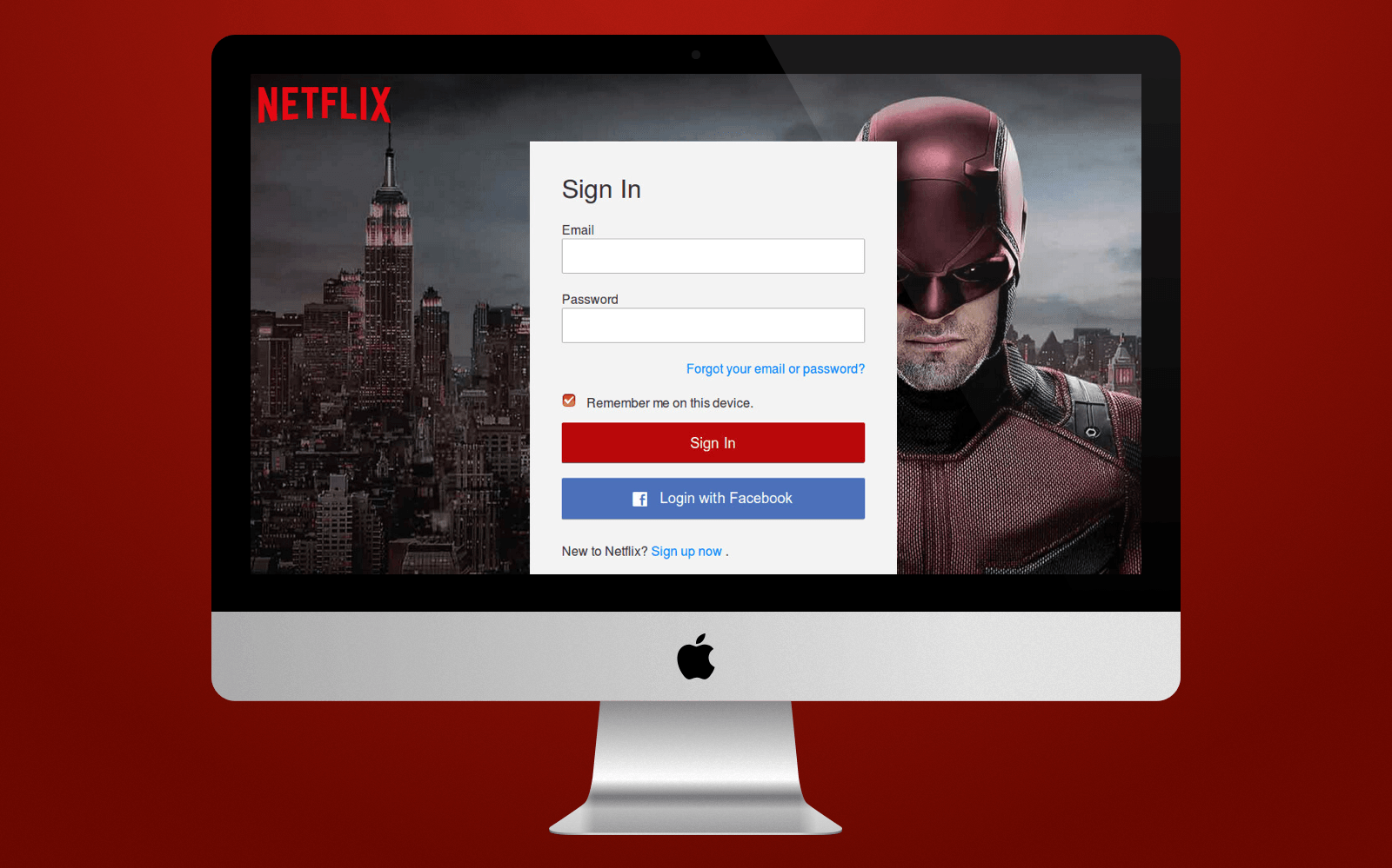 Sign-in Netflix