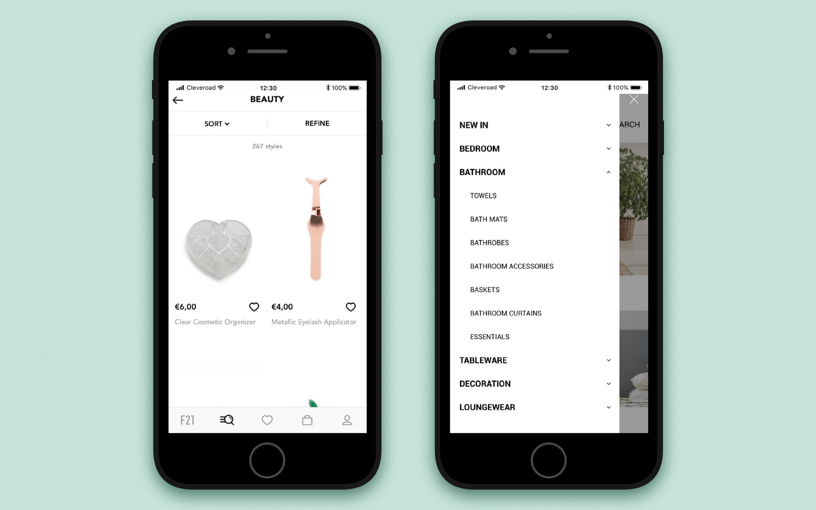Straightforward feed design to make an app for your online store
