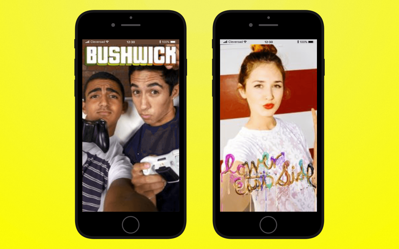 Add geofilter-related features to create an app like Snapchat