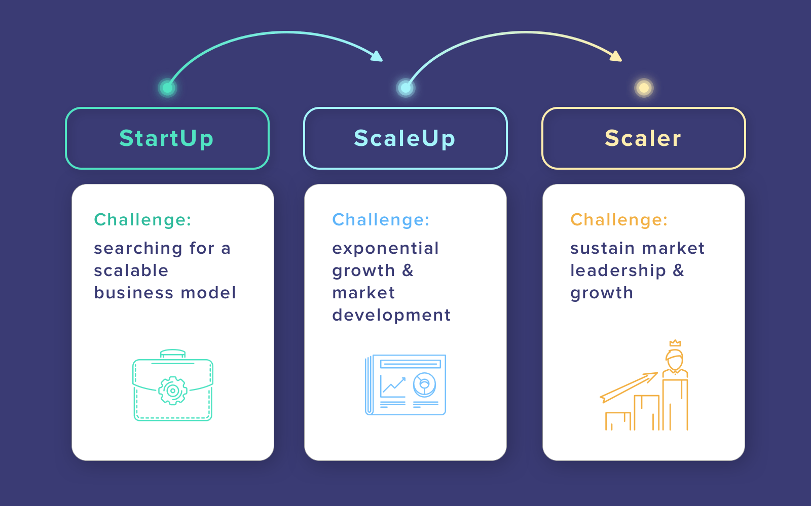 Scale-up vs Startup: different stages of company development