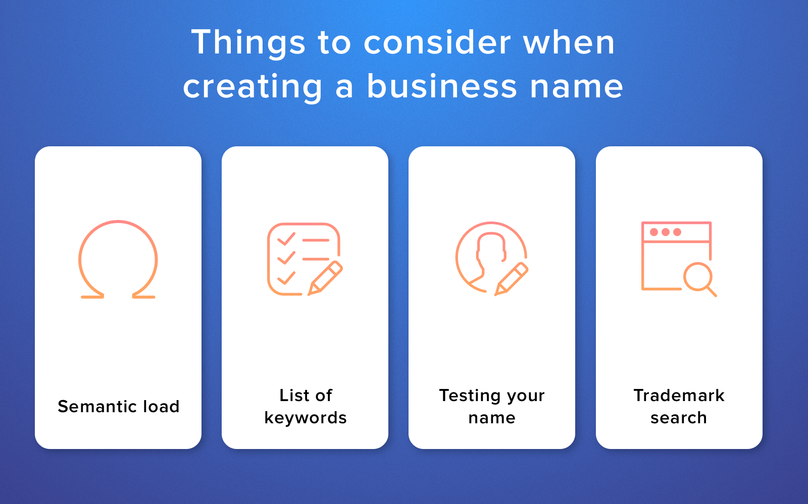 create a name for my business