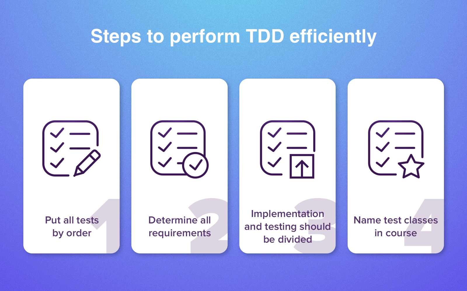 tdd advantages