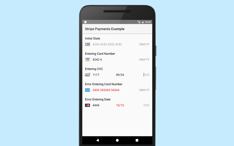 stripe payment android