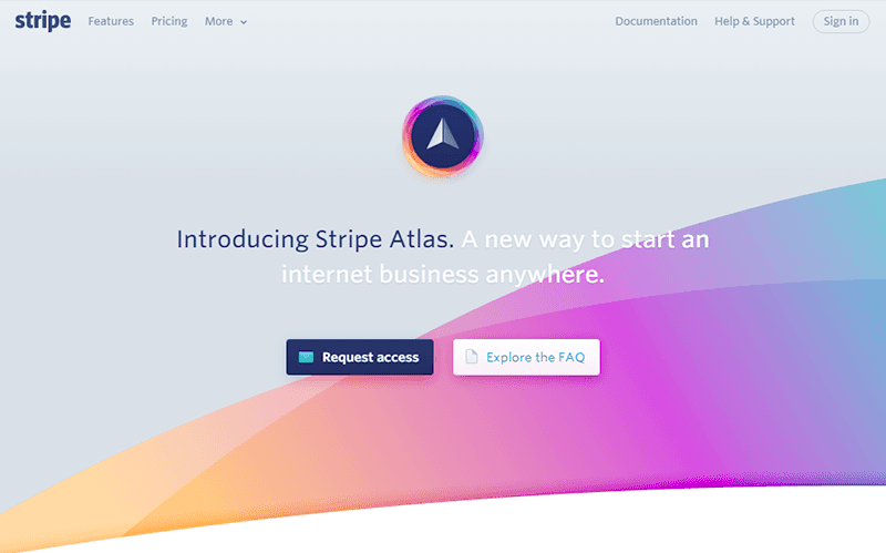 stripe atlas service