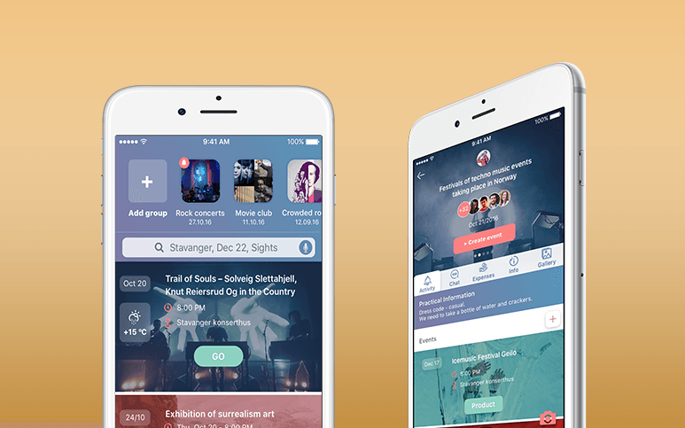 Swipe-IT is a new mobile event app
