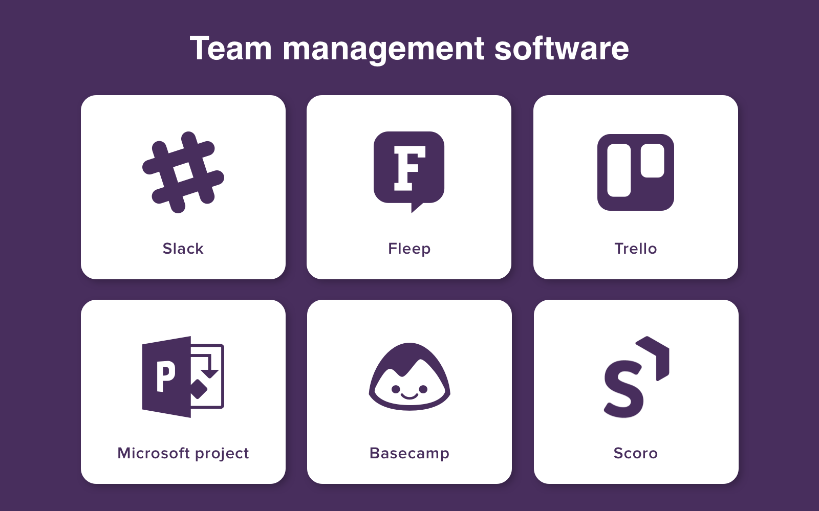 Team management software