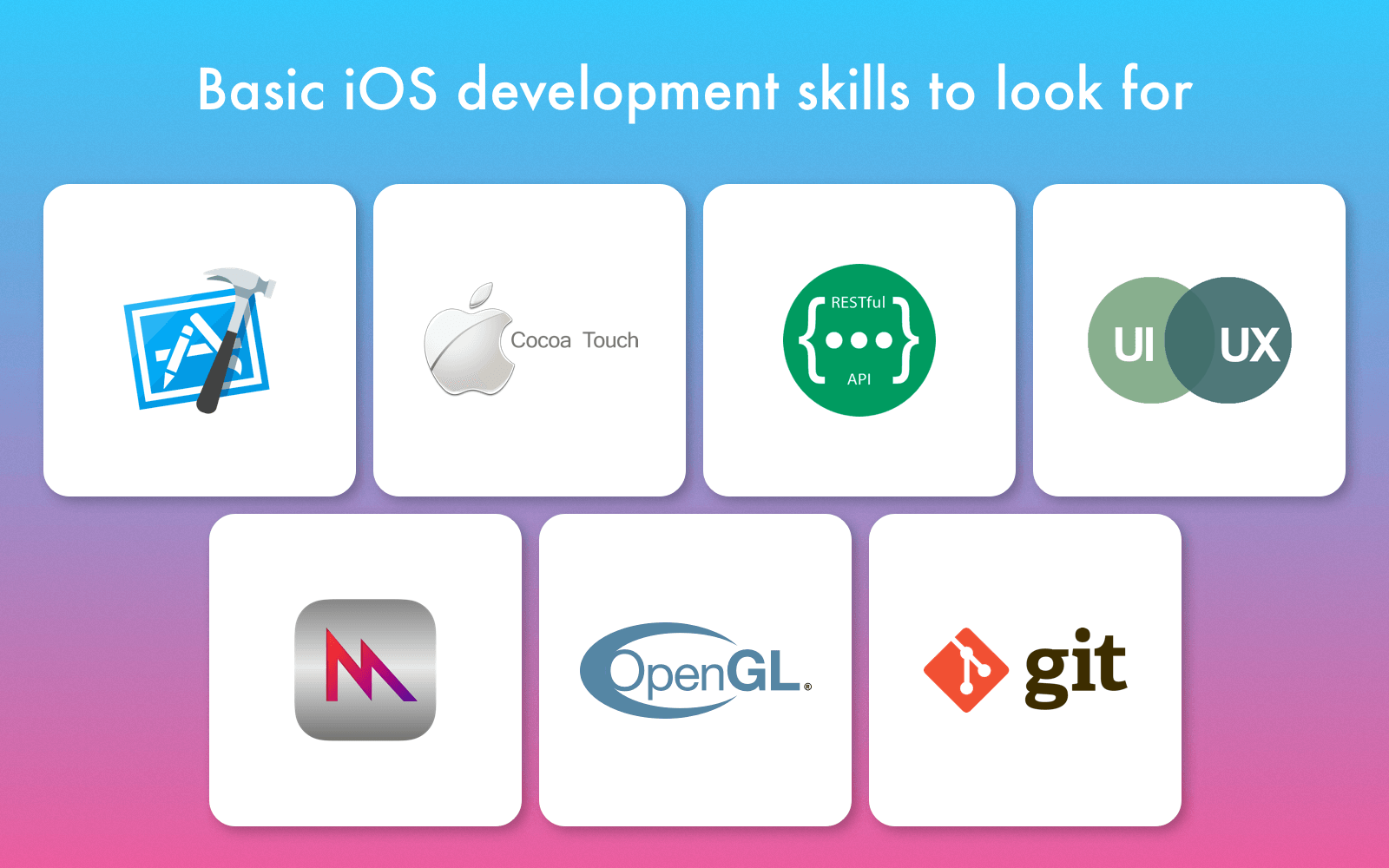 iOS developer skills to look for