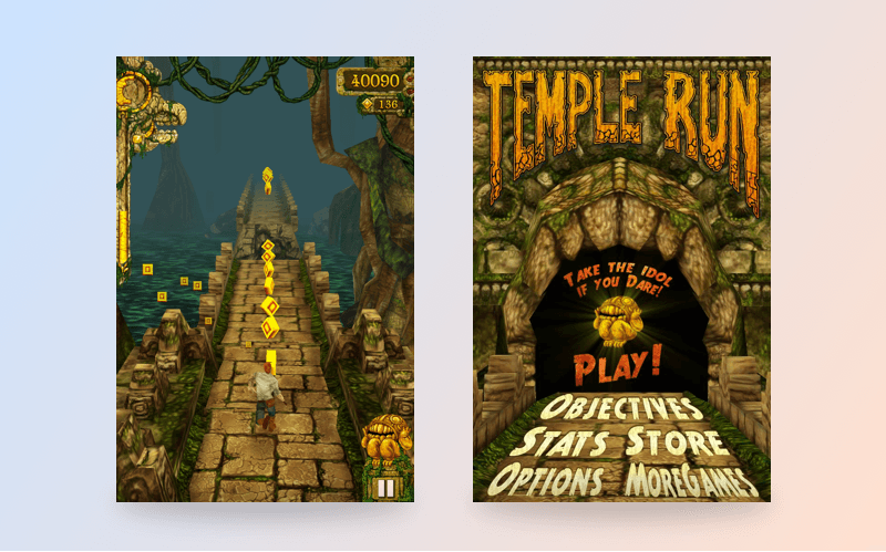 How much does it cost to create app like Temple Run