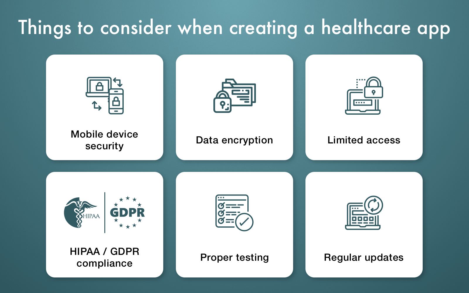 healthcare app security