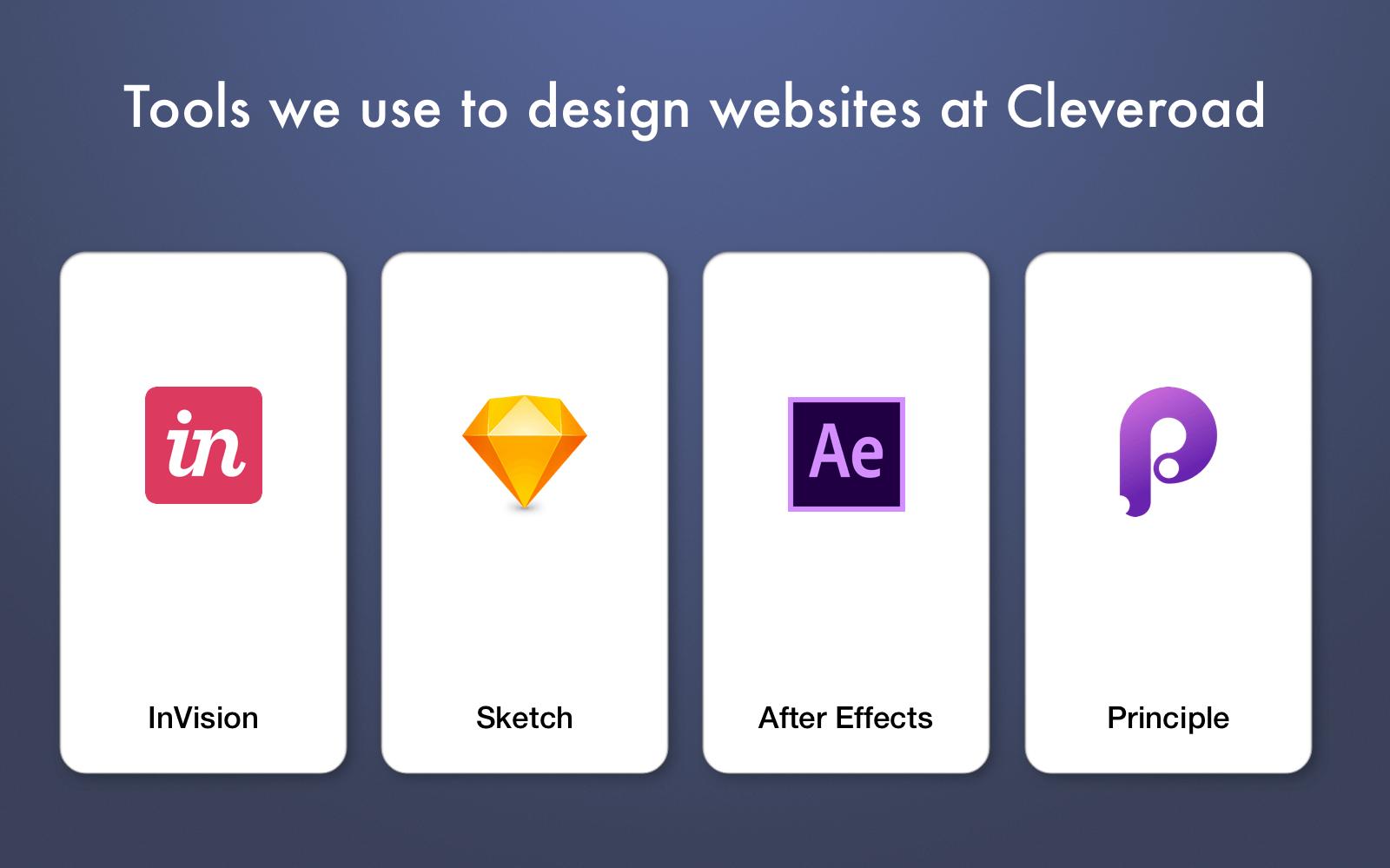 web design development tools