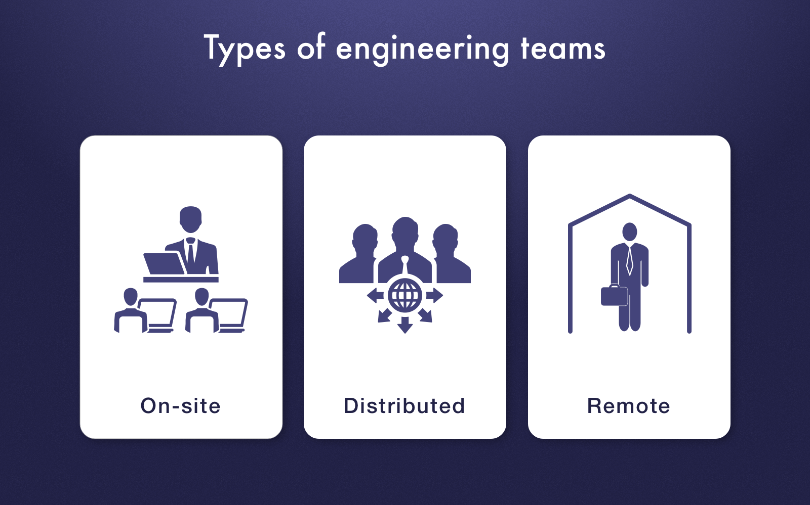 Engineering team types