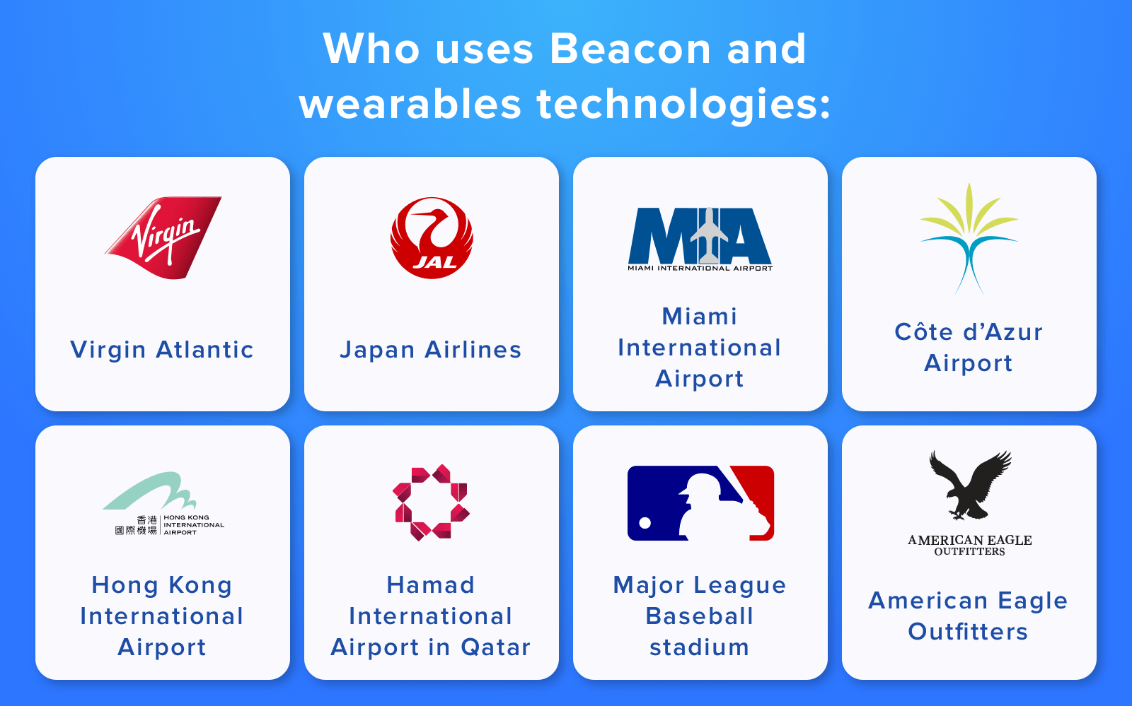 beacon technology uses